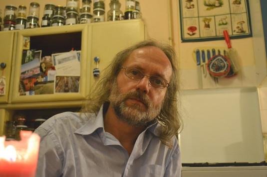 Ostravský básník Petr Hruška, nositel Státní ceny za literaturu.