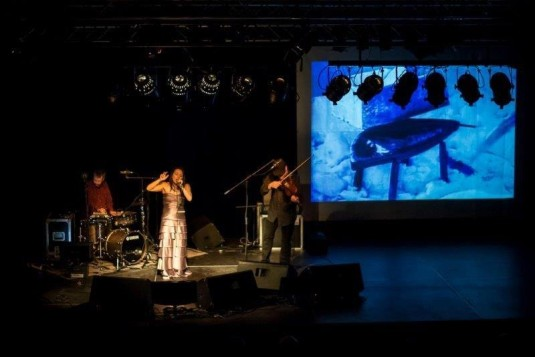 Koncert nabídl ideální spojení hudby a němého filmu.