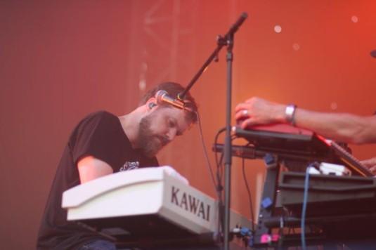 Zpěvák a skladatel John Grant na Colours of Ostrava.