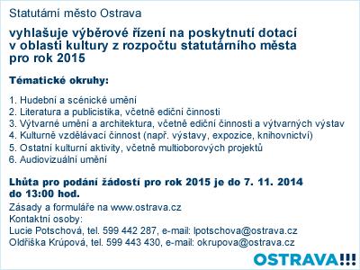 Ostrava - výběrové řízení