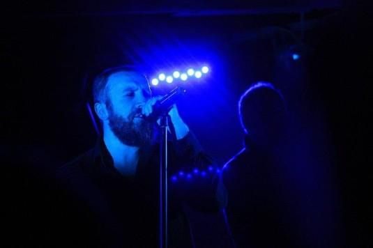 Ze sobotního koncertu Paradise Lost v ostravském Barráku.