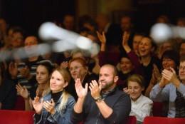 Publikum závěrečného koncertu nového festivalu Musica Pura.