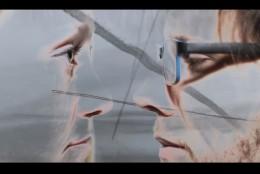 Eva Konečná a Martin Hampel ve videoklipu k písni 5AM.