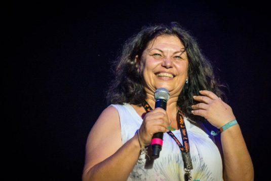 Ředitelka festivalu Colours of Ostrava Zlata Holušová.