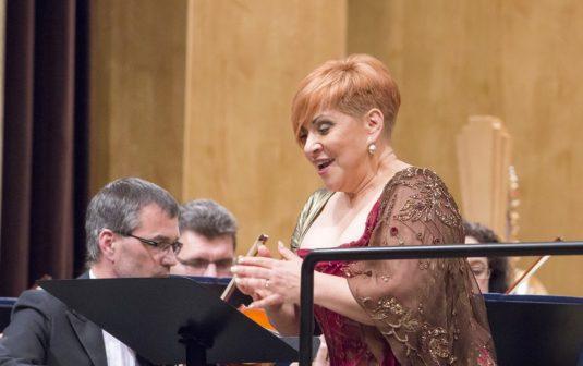 Z koncertu Dagmar Pecková na Janáčkově máji.