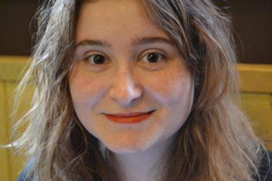 Chci, aby zmých obrazů vyzařovaly emoce, říká sedmnáctiletá výtvarnice Dorota Kaustová