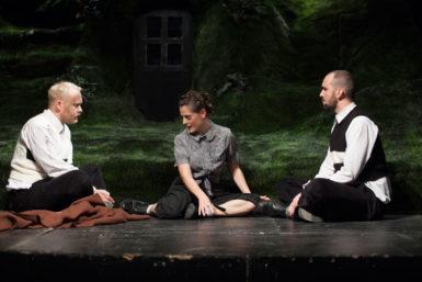 Adaptace románu Velký sešit mrazivě pobaví a nedává prostor k pochybám o vynikající divadelní práci