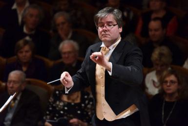 S dirigentem Zdeňkem Klaudou na pár slov před ostravskou premiérou opery Ifigenie vAulidě