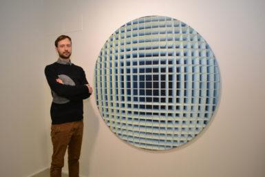 Ponořte se! Výtvarník Jan Poupě vGalerii Dole rozehrává silnou vizuální partii