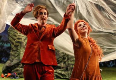 Zdařilá opavská inscenace opery Příhody lišky Bystroušky stojí na pevných pilířích
