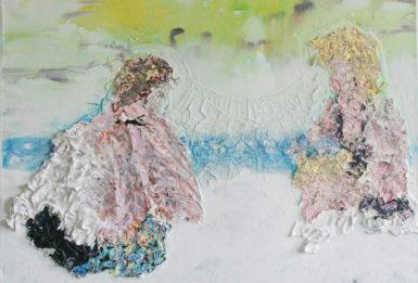 Vmalbě ukrytý šperk. Galerie Dole představuje ostravskou umělkyni Veroniku Opavskou