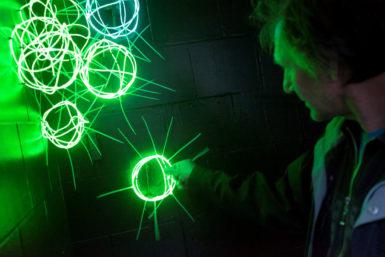 Centrum Opavy ovládli světlokopi. Inspirativní světelná výstava probíhá ve čtyřech galeriích
