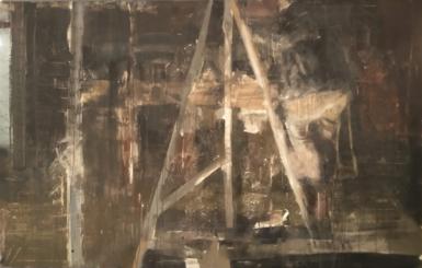 Výstava Zbyňka Sedleckého v Divadle Antonína Dvořáka nabízí sugestivní malířskou imaginaci tematiky práce