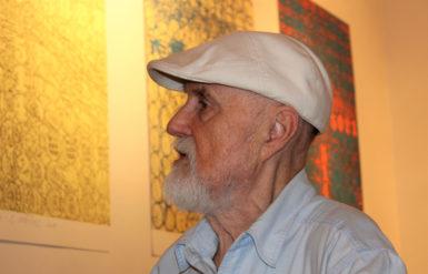 Bar, barbar, bard. Jediný žijící český lettrista Eduard Ovčáček vystavuje na Slezské