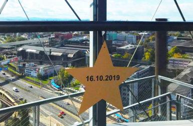 Marie Rottrová a Jindřich Štreit odhalí 16. října na Bolt Tower Jantarové schodiště slávy