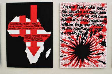 Pomozme Africe, volá zDomu umění Rudolf Sikora. A Otto Gutfreund ukazuje Ostravě, co je to socha