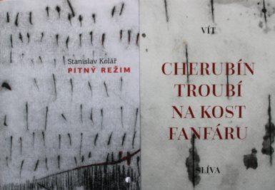 Vít Slíva a Stanislav Kolář: Dvě sbírky, překvapující blízkost grafiky, avšak rozdílné básnické ligy